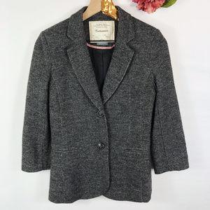 [CARTONNIER] Anthro Gray Blazer Jacket